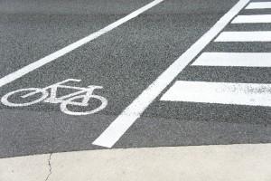 自転車横断歩道