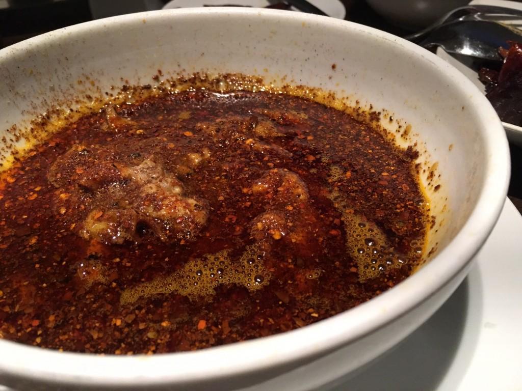 沸騰国産豚肉の激辛参照オイル煮込み