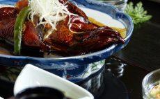 食事処『ひげ爺の栖』の金目の煮付け