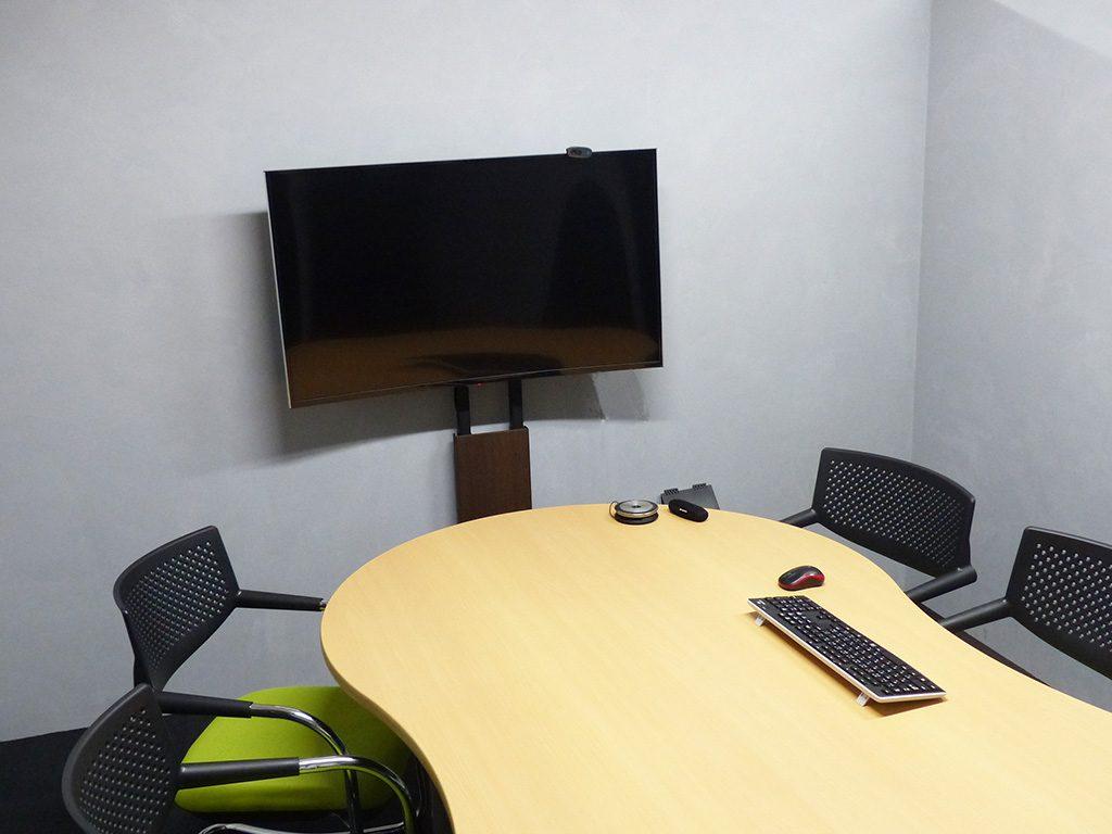 HomeGrowin新オフィス 会議室