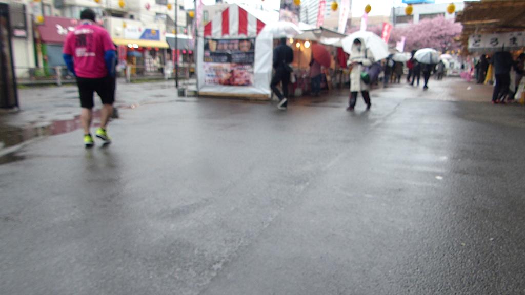 三浦マラソンは雨