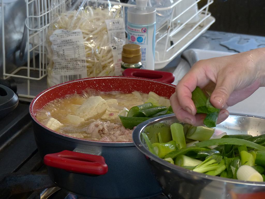 チーズ味噌鍋