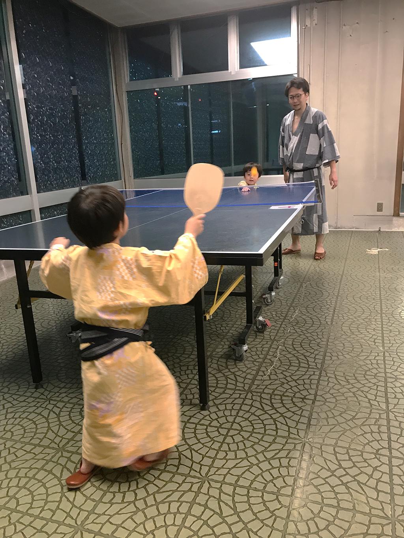 社員旅行 熱海 卓球